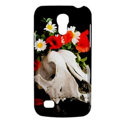 Animal Skull With A Wreath Of Wild Flower Galaxy S4 Mini by igorsin