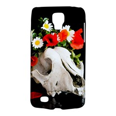 Animal Skull With A Wreath Of Wild Flower Galaxy S4 Active by igorsin