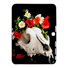 Animal Skull With A Wreath Of Wild Flower Samsung Galaxy Tab 4 (10 1 ) Hardshell Case  by igorsin