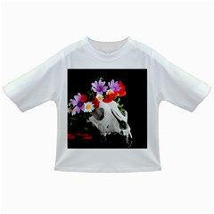 Animal Skull With A Wreath Of Wild Flower Infant/toddler T Shirts by igorsin