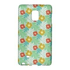 Vintage Floral Summer Pattern Galaxy Note Edge by TastefulDesigns