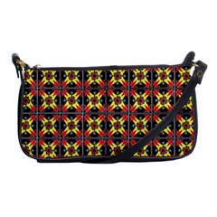 Artwork By Patrick Colorful 45 1 Shoulder Clutch Bags by ArtworkByPatrick