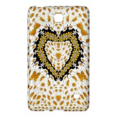 Hearts In A Field Of Fantasy Flowers In Bloom Samsung Galaxy Tab 4 (8 ) Hardshell Case  by pepitasart