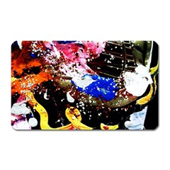 Smashed Butterfly 5 Magnet (rectangular)