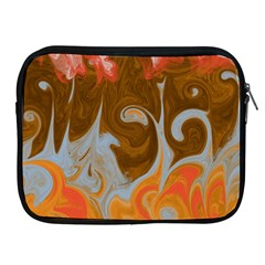 Fire And Water Apple Ipad 2/3/4 Zipper Cases by digitaldivadesigns