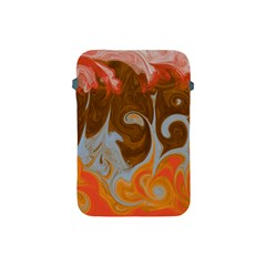 Fire And Water Apple Ipad Mini Protective Soft Cases by digitaldivadesigns