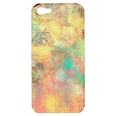 Pink Pastel Abstract Apple Iphone 5 Hardshell Case by digitaldivadesigns