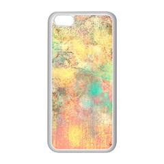 Pink Pastel Abstract Apple Iphone 5c Seamless Case (white)