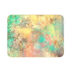 Pink Pastel Abstract Double Sided Flano Blanket (mini)  by digitaldivadesigns