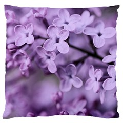 Lilac Large Cushion Case (two Sides) by LoolyElzayat