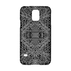 Black And White Psychedelic Pattern Samsung Galaxy S5 Hardshell Case  by goodart