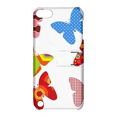 Colorful Butterflies Clipart Apple Ipod Touch 5 Hardshell Case With Stand
