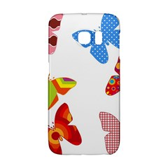 Colorful Butterflies Clipart Galaxy S6 Edge