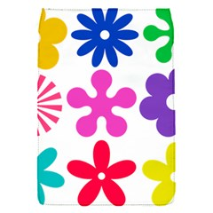 Retro Flower Ornaments Flap Covers (s)  by goodart