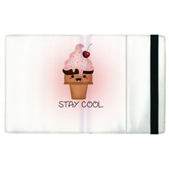 Stay Cool Apple Ipad 2 Flip Case by ZephyyrDesigns