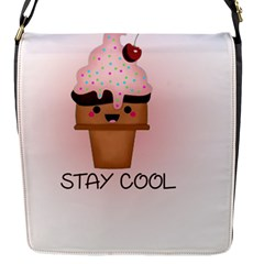 Stay Cool Flap Messenger Bag (s) by ZephyyrDesigns