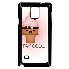 Stay Cool Samsung Galaxy Note 4 Case (black) by ZephyyrDesigns
