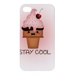 Stay Cool Apple Iphone 4/4s Premium Hardshell Case by ZephyyrDesigns
