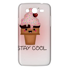 Stay Cool Samsung Galaxy Mega 5 8 I9152 Hardshell Case  by ZephyyrDesigns