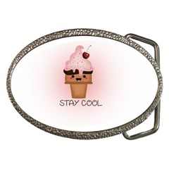 Stay Cool Belt Buckles by ZephyyrDesigns