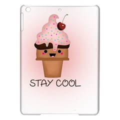 Stay Cool Ipad Air Hardshell Cases by ZephyyrDesigns