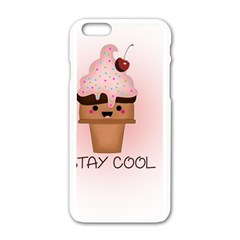 Stay Cool Apple Iphone 6/6s White Enamel Case