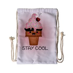 Stay Cool Drawstring Bag (small) by ZephyyrDesigns