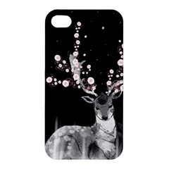 Deer Apple Iphone 4/4s Premium Hardshell Case by ZephyyrDesigns