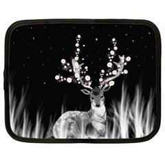 Deer Netbook Case (large) by ZephyyrDesigns