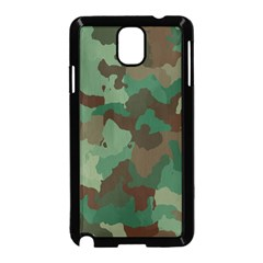 Camouflage Pattern Samsung Galaxy Note 3 Neo Hardshell Case (black) by goodart