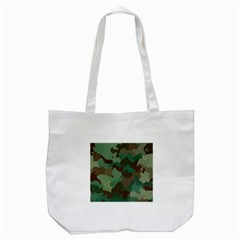 Camouflage Pattern Tote Bag (white) by goodart