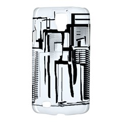 Black And White City Galaxy S4 Active by digitaldivadesigns
