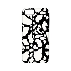Black White Cow Print Apple Iphone 5 Classic Hardshell Case (pc+silicone)