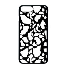 Black White Cow Print Apple Iphone 7 Plus Seamless Case (black) by LoolyElzayat