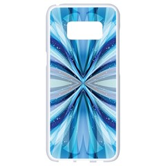 Abstract Design Samsung Galaxy S8 White Seamless Case by LoolyElzayat