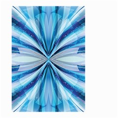 Abstract Blue Small Garden Flag (two Sides) by LoolyElzayat