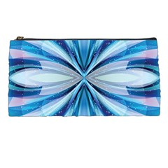 Abstract Blue Pencil Cases by LoolyElzayat