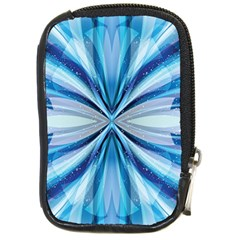 Abstract Blue Compact Camera Cases