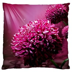 Majestic Flowers Standard Flano Cushion Case (one Side) by LoolyElzayat