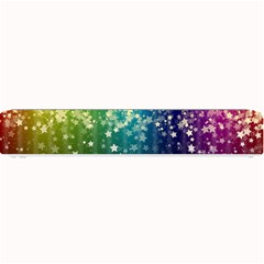 Colorful Space Rainbow Stars Small Bar Mats