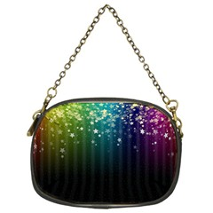 Colorful Space Rainbow Stars Chain Purses (one Side)