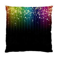 Colorful Space Rainbow Stars Standard Cushion Case (one Side)