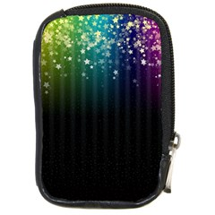 Colorful Space Rainbow Stars Compact Camera Cases