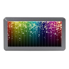Colorful Space Rainbow Stars Memory Card Reader (mini)