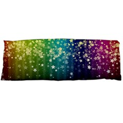 Colorful Space Rainbow Stars Body Pillow Case Dakimakura (two Sides)