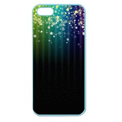 Colorful Space Rainbow Stars Apple Seamless Iphone 5 Case (color)