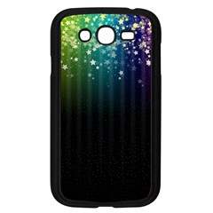 Colorful Space Rainbow Stars Samsung Galaxy Grand Duos I9082 Case (black)