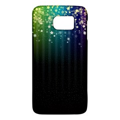 Colorful Space Rainbow Stars Galaxy S6