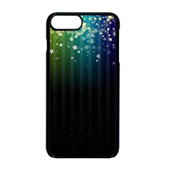 Colorful Space Rainbow Stars Apple Iphone 8 Plus Seamless Case (black)