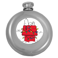 Peanuts Snoopy Round Hip Flask (5 Oz) by Samandel